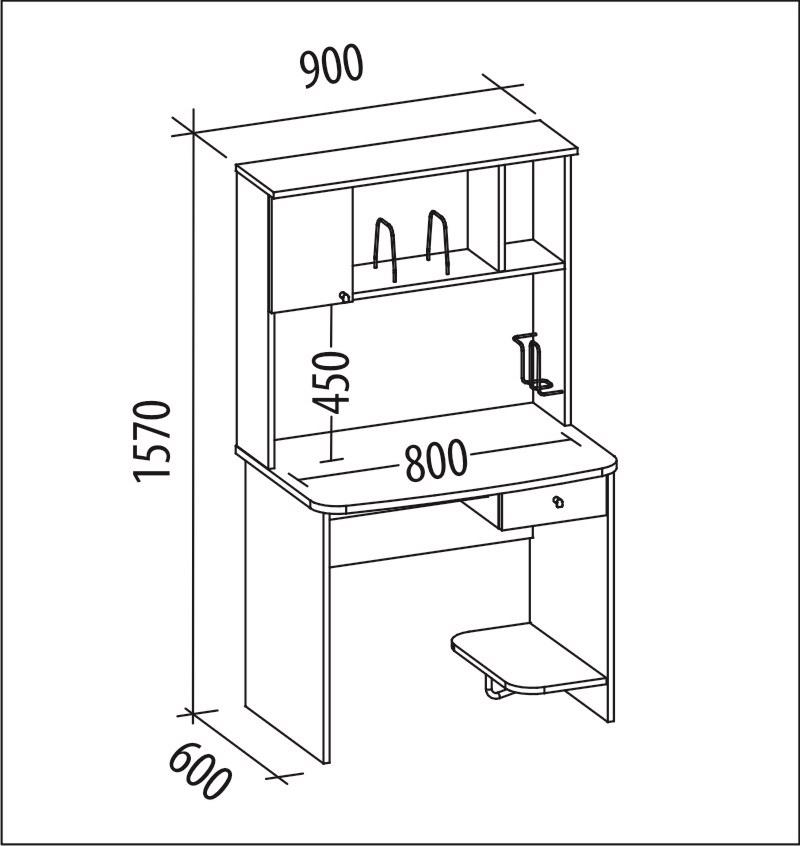 Простой компьютерный стол своими руками чертежи схемы 63